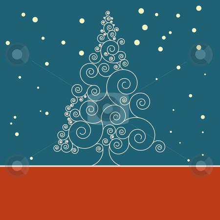 Retro christmas card Template. EPS 8 stock vector clipart, Retro christmas card Template. EPS 8 vector file included by Vladimir Petrov