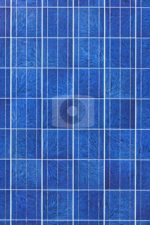 Solar panel surface stock photo, Surface of alternative energy photovoltaic solar panel by Elena Elisseeva