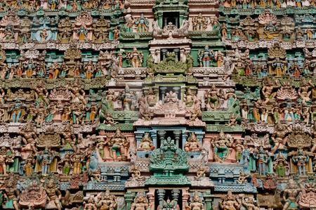 Hindu Architecture stock photo,  by Arvind Balaraman
