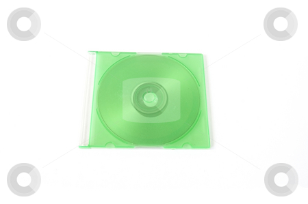 Blank disc stock photo, Blank disc by Udomsak Insome