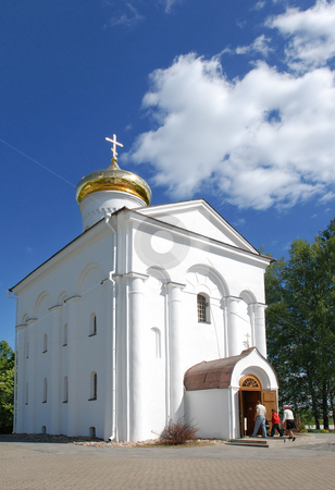 The Holy Transfiguration Church of the Saviour and st.Evphrosini stock photo, The Holy Transfiguration Church of the Saviour and st.Evphrosinija nunnery, Polotsk, Belarus by Vladimir Blinov