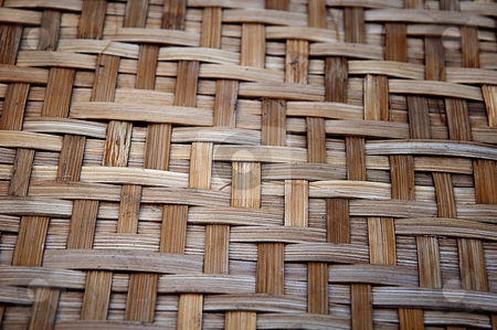 Bamboo handy craft detail stock photo, Bamboo handy craft detail by Udomsak Insome