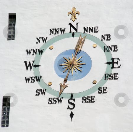 Hamilton Clock stock photo, Ornate clock, on the City Hall Clock Tower, Hamilton, Bermuda. by Mary Lane