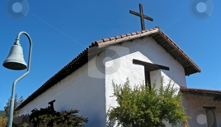 Mission Sonoma stock photo, The historic old Spanish mission, Sonoma, California. by Mary Lane