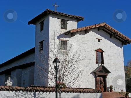 Mission San Jose stock photo, Beautiful, historic, Mission San Jose, San Jose, California. by Mary Lane