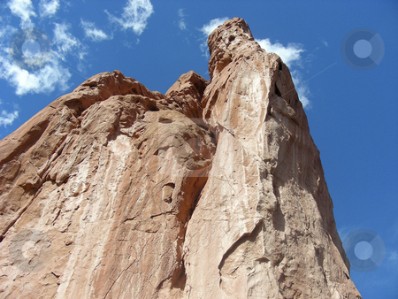 Garden of the Gods stock photo, The sandstone peaks of the Garden of the Gods, Colorado Springs, Colorado. by Mary Lane
