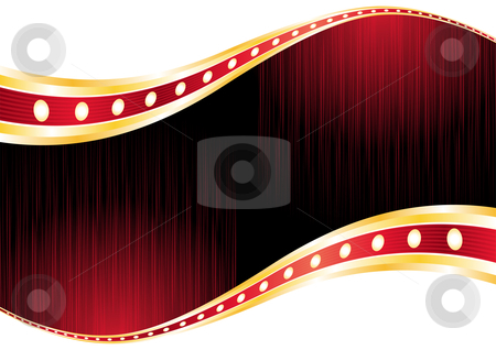 Casino wallpaper  stock vector clipart, Bright red layout with neon for casino by oxygen64