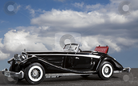 German Classic stock photo, A beautiful German classic car from yesteryear by William Attard McCarthy