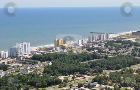 Myrtle Beach - Aerial View stock photo, Myrtle Beach - Aerial View by Liane Harrold