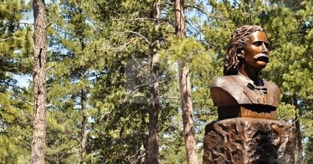 Deadwood - Wild Bill Statue Background
