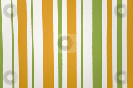 Orange, green vertical striped texture stock photo, Orange, green and white vertical striped texture by caimacanul
