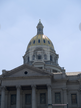 Denver, Colorado stock photo, State Capital Building, Denver, CO. by Cora Reed