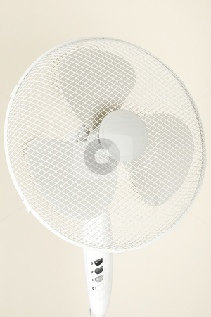 Fan, ventilator for hot summer days stock photo, Isolated fan, ventilator for hot summer days by Victor Oancea