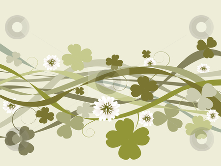 St. Patrick's Day design stock photo, St. Patrick's Day illustration, celebration card by Richard Laschon