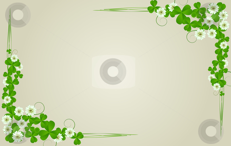 St. Patrick's Day postcard stock photo, St. Patrick's Day postcard, standard size by Richard Laschon