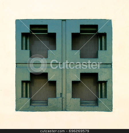 Abstract Windows stock photo, Abstract window by Henrik Lehnerer