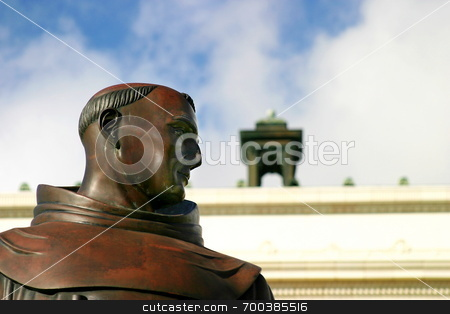 Junipero Serra stock photo,  by Henrik Lehnerer