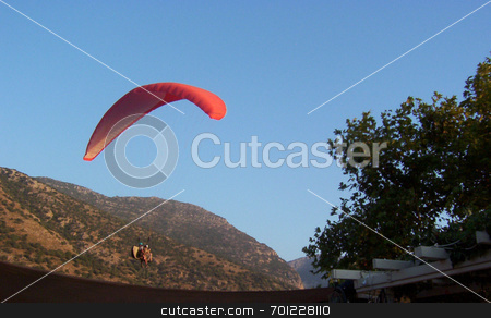 Paragliding stock photo, Paragliding in Turkey by Alexander Wilson