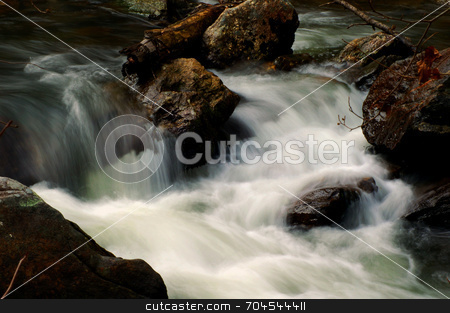 Cullasaja River stock photo,  by Lori Walden