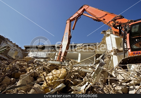 Demolition stock photo,  by Luca Mosconi