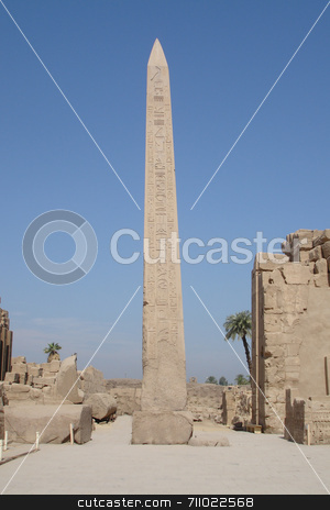 Egyptian monument stock photo, Various scenes of Luxor, in Egypt. Including the Karnak and Luxor Temple, Hatshepsut Temple and statues. by Daniel Wiedemann