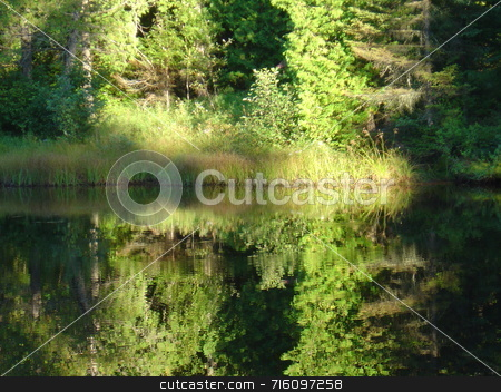 Rorschach lake stock photo,  by Marcel Achard