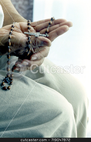 Rosary stock photo,  by Marlene Cabais