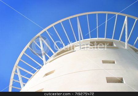 Pacific Mall Tower stock photo, Close up shot of the pacific mall tower by Henrik Lehnerer