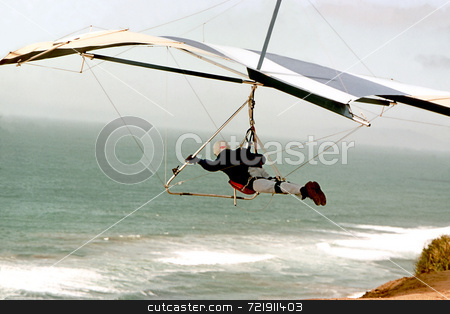 Hang Glider stock photo,  by Marlene Cabais