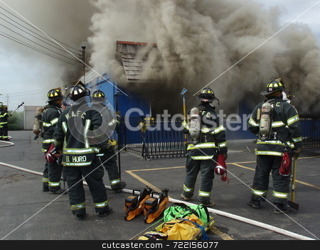 Bar Fire stock photo,  by Mark Bernas