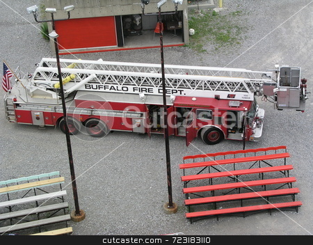 Tower Ladder stock photo,  by Mark Bernas
