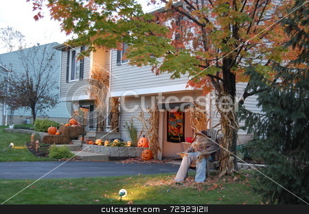 October Home stock photo,  by Mark Bernas