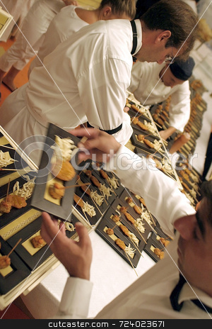 Catering 2 stock photo,  by Luca Mosconi