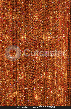 Abstract Rust Crystal Background stock photo, A abstract rust crystal bead background or texture. by Kevin Tietz