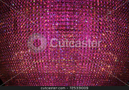 Abstract Purple Crystal Background stock photo, A abstract purple crystal bead background or texture. by Kevin Tietz