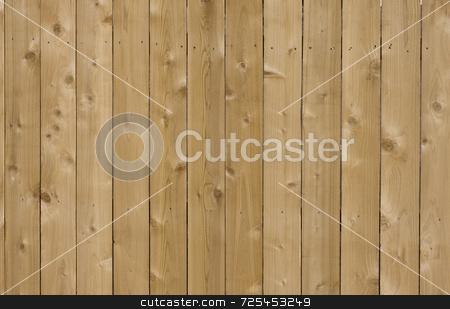 New cedar wood fence background stock photo, New cedar wood fence background in sunlight by Marek Uliasz