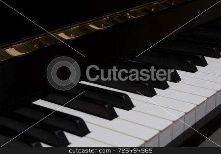 Piano stock photo, Piano by Thomas Gavagan