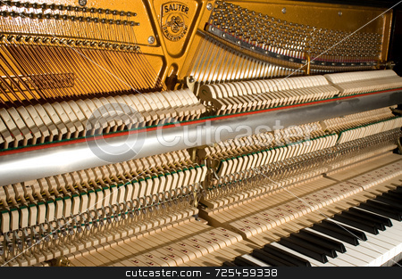 Piano stock photo, Piano by Thomas Gavagan
