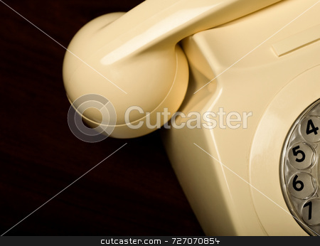 Rotary Dial Telephone stock photo, Rotary Dial Telephone by Jon Stokes