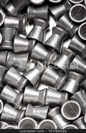 Air gun pellets stock photo, Air Gun Pellets by Jon Stokes