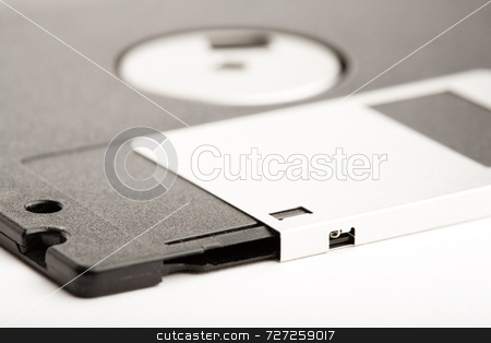 3.5 inch Floppy Disk stock photo, 3.5 inch Floppy Disk by Jon Stokes