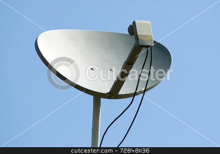 Sattelite Receiver stock photo, A home satellite receiver picking up signals by Richard Nelson