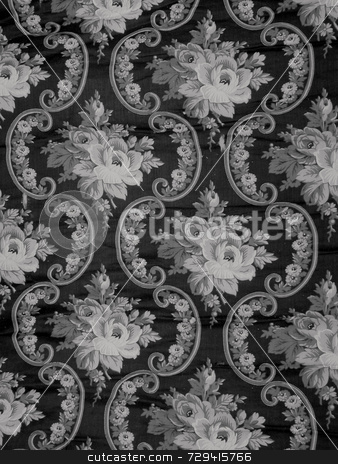 Antique Fabric stock photo,  by Tom and Beth Pulsipher