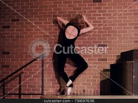 Modern Ballet Pointe stock photo,  by Trevor Millions