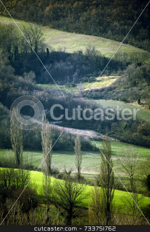 Marches landscape stock photo, Marches Landscape by Luca Mosconi