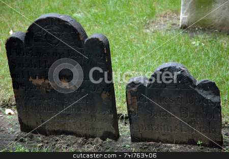 Tombs in the city 1 stock photo,  by Aivlis Rios