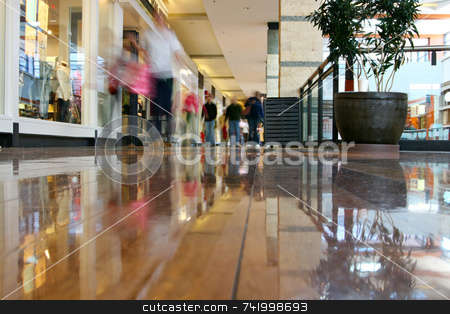 Mall Journey stock photo, Journey to the mall by Mitch Aunger