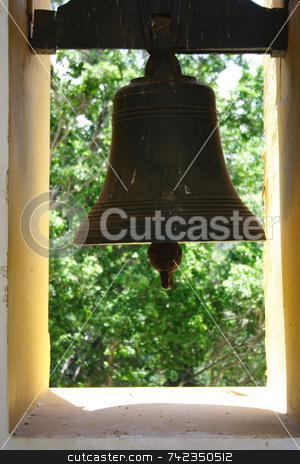 Church Bell stock photo, A church bell. by Daniel Wiedemann