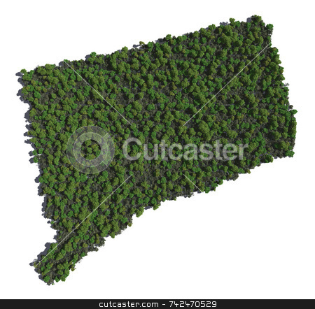 Connecticut in Trees stock photo,  by Allan Tooley