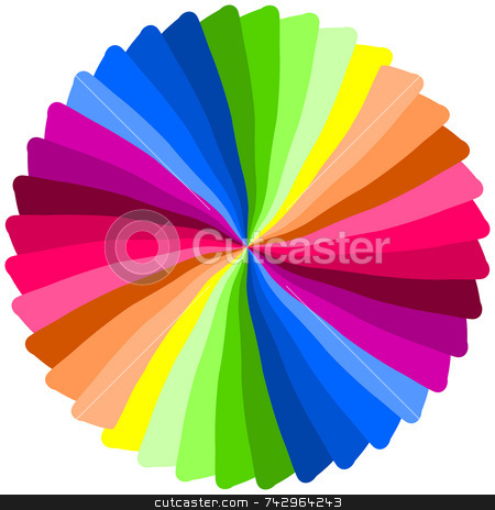 Color spiral. stock photo, Color spiral. by Stephen Rees